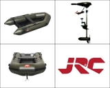 JRC Inflatable Extreme Boat 270 + motor Shakespeare 44lb ZDARMA!