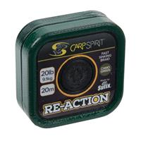 CARP SPIRIT RE-ACTION BRAID 20M CAMO GREEN 25LB