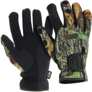 NGT Neoprén Rukavice Camo Gloves XL