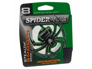 SPIDERWIRE STEALTH SMOOTH 8 šnůra metráž zelená 0,17mm