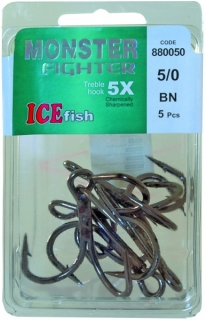 ICE FISH BN MONSTER FIGHTER 5X 5/0-5ks