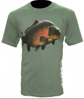 Tričko Zfish Carp T-Shirt Olive Green