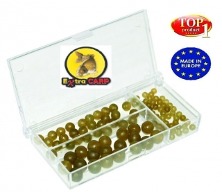 Rubber Beads Set 100 ks